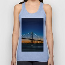The Ambassador Bridge Unisex Tank Top