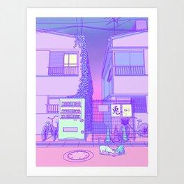 Pastel Tokyo Cats Kunstdrucke