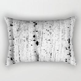 Black and White Aspens Rectangular Pillow