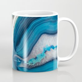 Blue Agate Coffee Mug