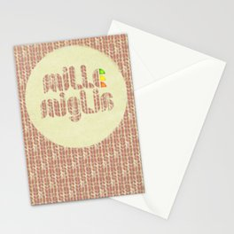 Retro race. Mille Miglia! Stationery Cards