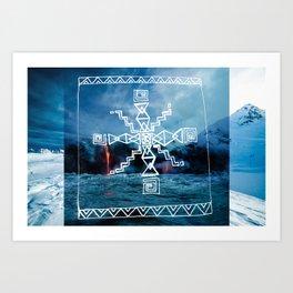 Coldwar Blanket. infn8. Art Print