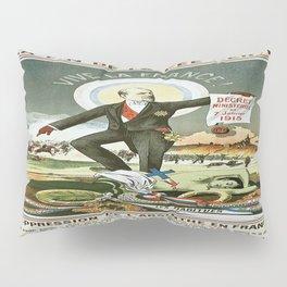 Vintage poster - La Finn de la Fee Verte Pillow Sham