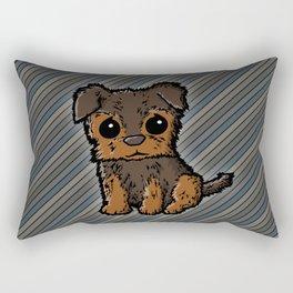 Troy - Silky Terrier Rectangular Pillow
