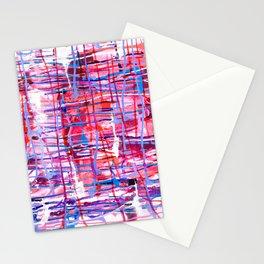 WINDOW PANE - CHANGING SEASONS - NORTHWEST - RAIN Stationery Cards