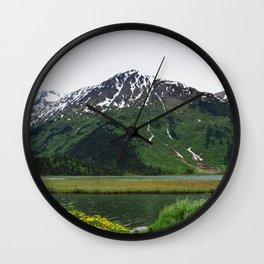 God's Country - IIIbbd, Alaska Wall Clock