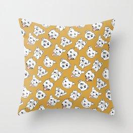 Pittie Pittie Please! 2 Throw Pillow