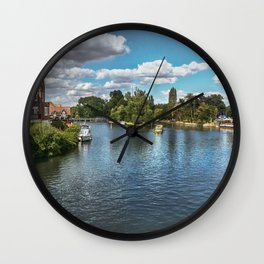 From Windsor Town Bridge Wall Clock