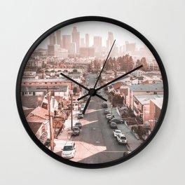 Los Angeles City California Wall Clock