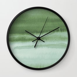 Sky Watercolor Texture Abstract 220 Wall Clock