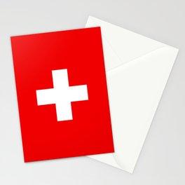 Flag of Switzerland Stationery Cards