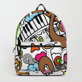 cute, Face, Smile ,Happy Backpack