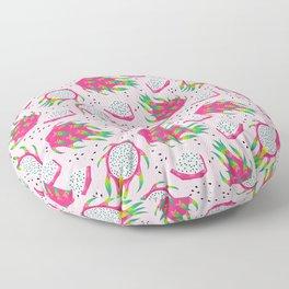 Dragon fruit pink Floor Pillow