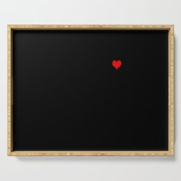 Tangled Up Heart Serving Tray