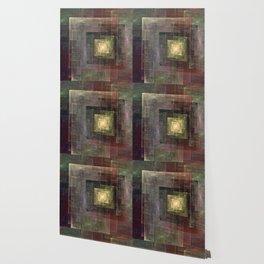 Earth Tones Squared Wallpaper