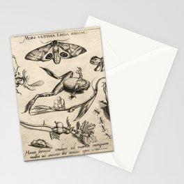 Joris Hoefnagel - Mors ulitma Linea Rerum Stationery Cards