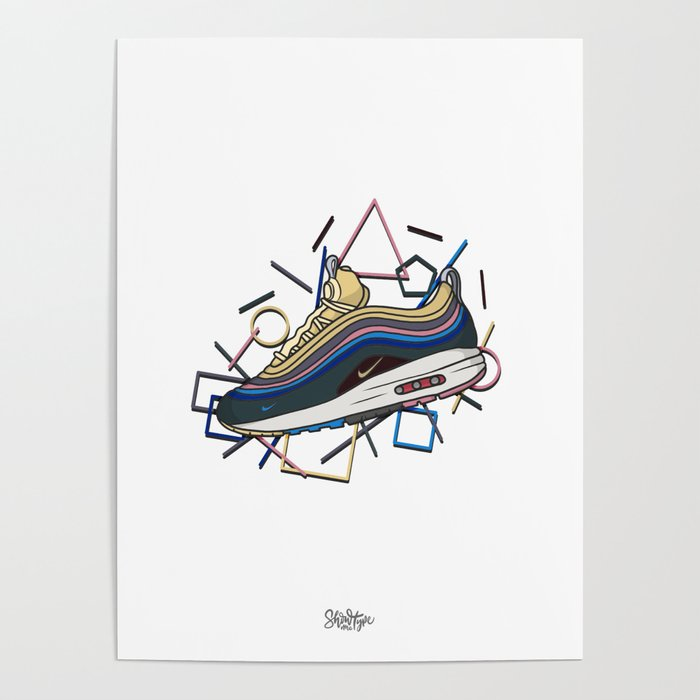 Air Max 1 Wotherspoon Poster by EM - Showmetype