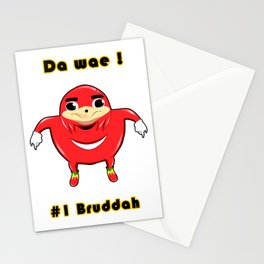Uganda Knuckles Stationery Cards