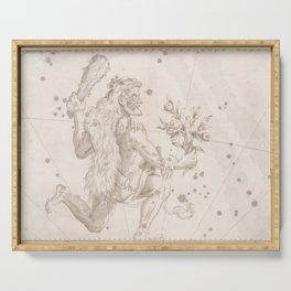 Johann Bayer - Uranometria / Measuring the Heavens (1661) - 07 Hercules Serving Tray