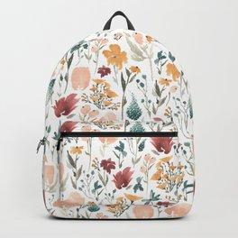 Deep Florals Backpack