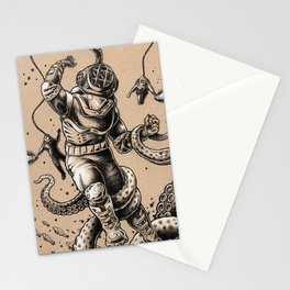Danger Dive Stationery Cards