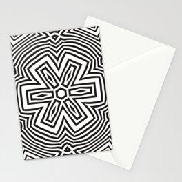 Op art 4 Stationery Cards