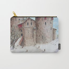 Castell Coch (Red Castle) - Winter Carry-All Pouch