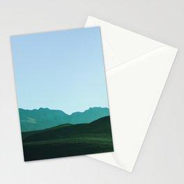 la montagnes Stationery Cards