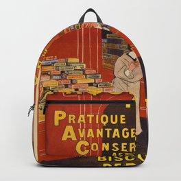 Vintage poster - Biscuits Pernot Backpack