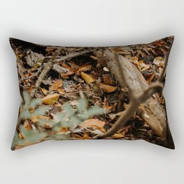 Find the frog Rectangular Pillow