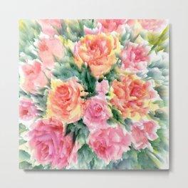 Bright Roses Metal Print