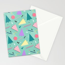 Memphis Xmas Stationery Cards