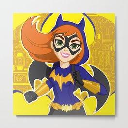 DC Super - Society6 Kids - Hero Girls - Trending Room Decorations - Children's Art - Fun 33k Metal Print
