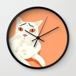 Kucing Risau Wall Clock