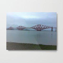 The Scotland Forth Bridge  Metal Print