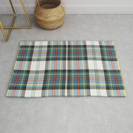 Beautiful multicolors tartan pattern Rug