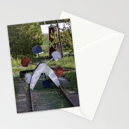 Abandoned mini golf Stationery Cards