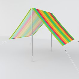 Sweet lollypop candy bright colorful stripes Sun Shade