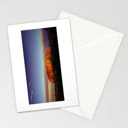 Sunset at Uluru Stationery Cards