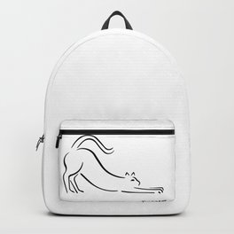 Pablo Picasso Cat Artwork Shirt, Kitten Sketch Reproduction Backpack
