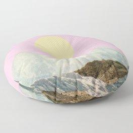 Late Summer Sun Floor Pillow