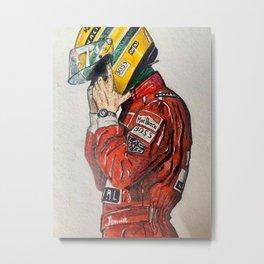 Senna Metal Print
