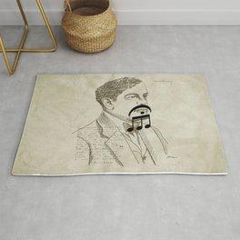 Claude Debussy Rug