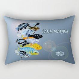 The Rare Mbuna Rectangular Pillow