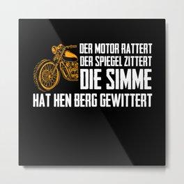 Schwalbenfahrer Schwalbe DDR Moped Nostalgia Metal Print