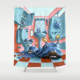 Monster Blood IV Shower Curtain