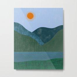 Mountain River #2 Metal Print