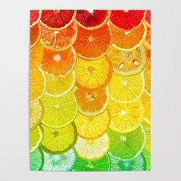 Fruit Madness - Citrus Poster