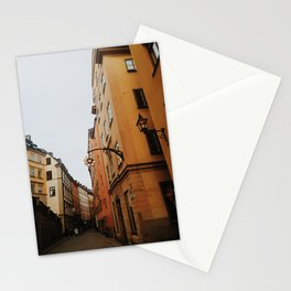 Old town Stockholm II Stationery Cards