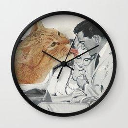 Planet Feline Wall Clock
